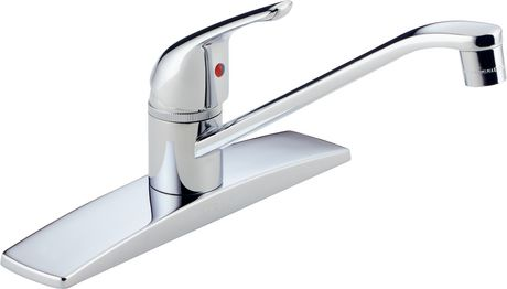 Peerless Chrome Single Handle Kitchen Faucet