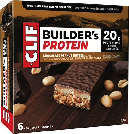 Clif Builders Protein Bar Chocolate Peanut Butter 68g
