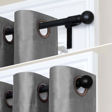 maytex smart rods twist and shout tension window curtain rod