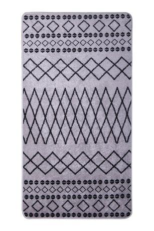 azure tapis motif geometrique marocain
