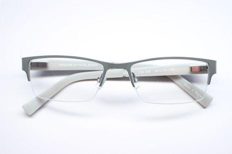 House of Farley Men's HOF-03 008 Grey Eyeglasses   Walmart ...