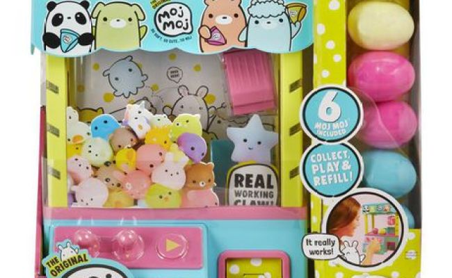 The Original Moj Moj Claw Machine With Lights Sounds