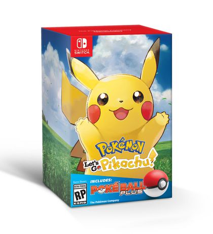 Pokmon Lets Go Pikachu Pok Ball Plus Pack