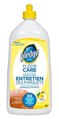 Pledge Hardwood Cleaner Floor Care  Walmart Canada