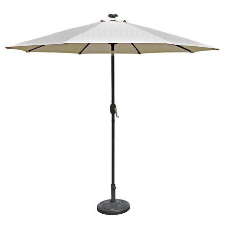 Parasol Auto Inclinable De Style March Island Umbrella