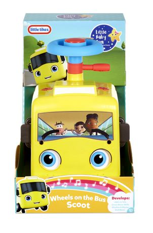 Little Baby Bum The Wheels On The Bus : little, wheels, Little, Wheels, Scoot, Official, Tikes, Walmart, Canada