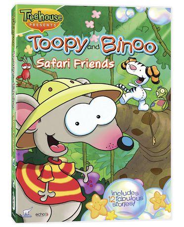 Tooby Amp Binoo Safari Friends DVD Walmart Canada