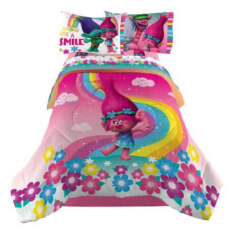 DreamWorks Trolls Show Me A Smile TwinFull Comforter