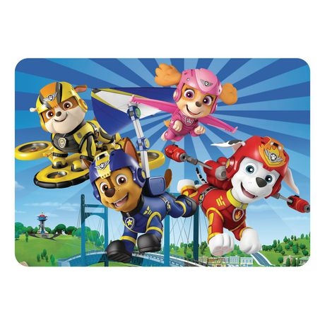 """PAW Patrol """"Paws Are Out"""" Placemat"""