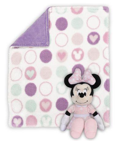 Douillette Et Moelleux Par Disney Bb Minnie Walmart