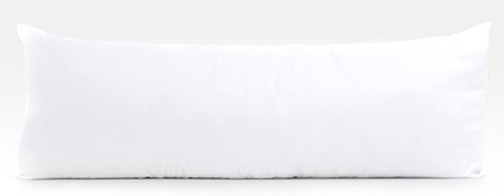 mainstays white body pillow case