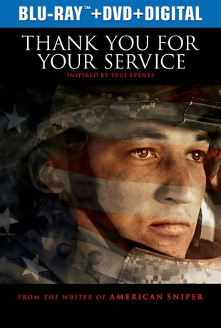 Thank You For Your Service Blu Ray DVD Digital
