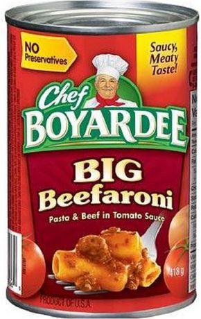 Chef Boyardee Big Beefaroni Pasta And Beef in Tomato