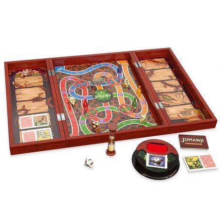 Cardinal Games Jumanji Board Game In Wooden Case Walmart
