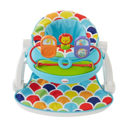 sit me up chair for babies folding circle fisher price floor seat with toy tray walmart canada