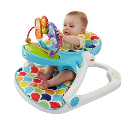 chair to help baby sit up girls papasan best house interior today fisher price me floor seat with toy tray walmart ca amazon