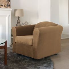 Living Room Chair Slipcovers With Accent Chairs Surefit Jagger Stretch Slipcover Walmart Canada