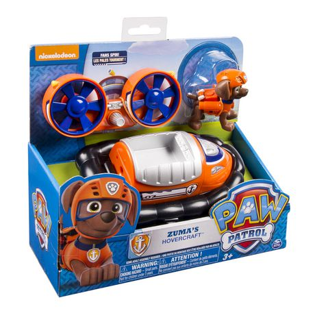 Paw Patrol Zuma S Hovercraft Toy Vehicle Walmart Canada