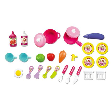 childrens toy kitchen lowes sinks and faucets 2 in 1 children s portable set by chef walmart canada