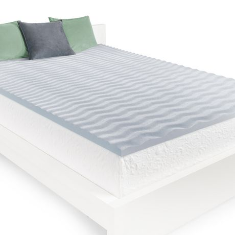 Buy memory foam mattresses and get the best deals at the lowest prices on ebay! homedics 2 cool wave memory foam mattress topper