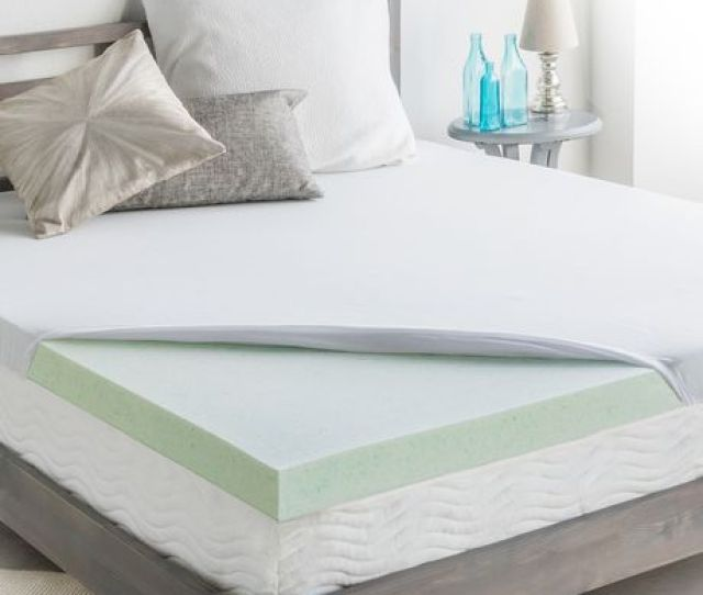 Homedics 3 Cool Support Gel Memory Foam Mattress Topper Image 1