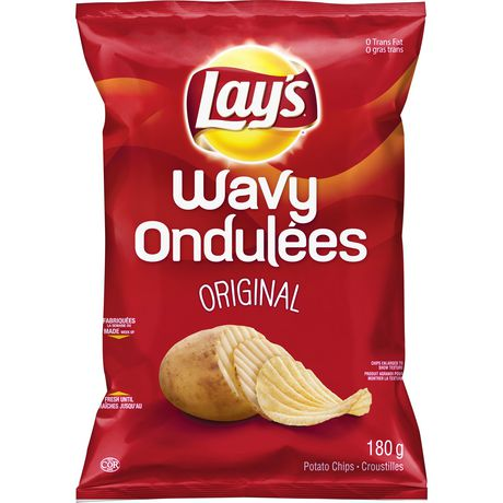 Lay39s Wavy Original Potato Chips Walmart Canada