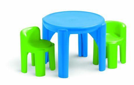 ensemble de table et chaises de little tikes