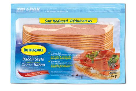 Butterball Salt Reduced Bacon Style Turkey   Walmart Canada