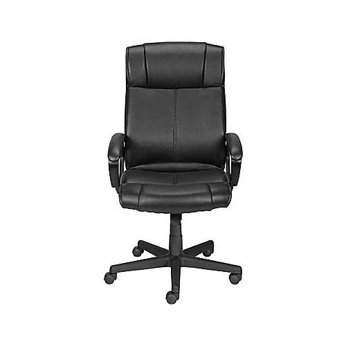 staples turcotte chair brown bleacher chairs with backs high back executive walmart com