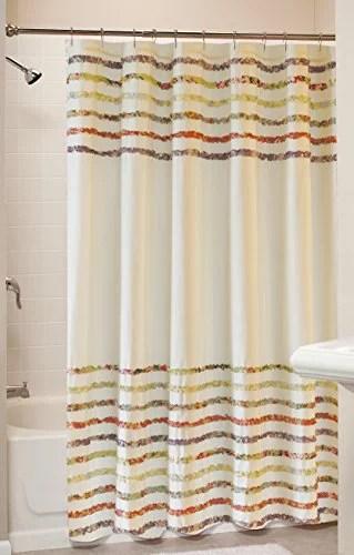 Bella Ruffle Shower Curtain Bath Multi Walmart Com