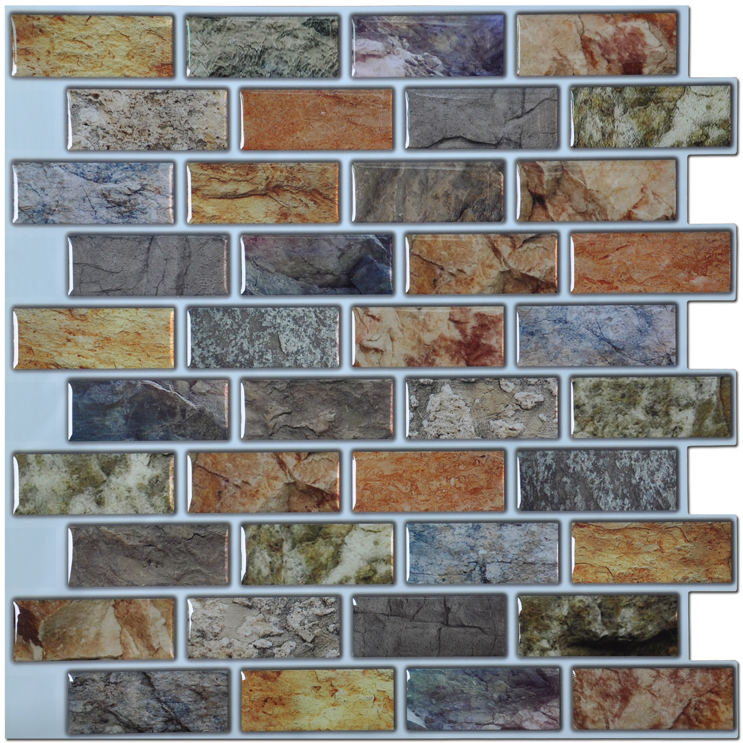 art3d backsplash peel n stick tiles kitchen bathroom backsplash tiles 12 x 12 pack of 6