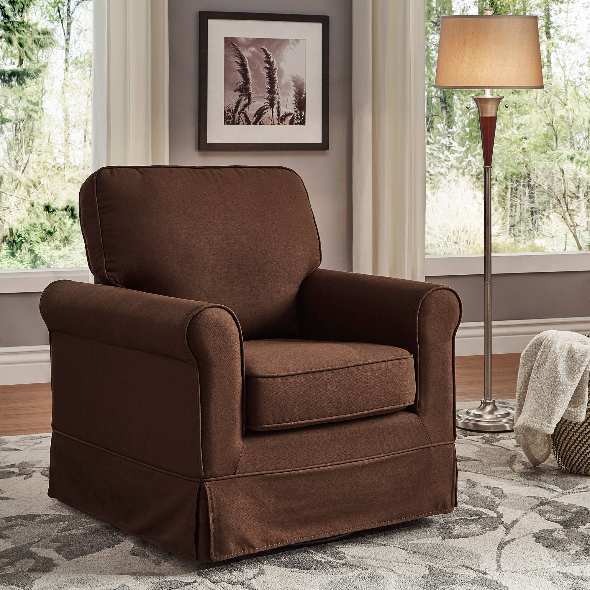 Rocking Accent Chairs Weston Home Madden Swivel And Rocking Accent Chair Multiple Colors