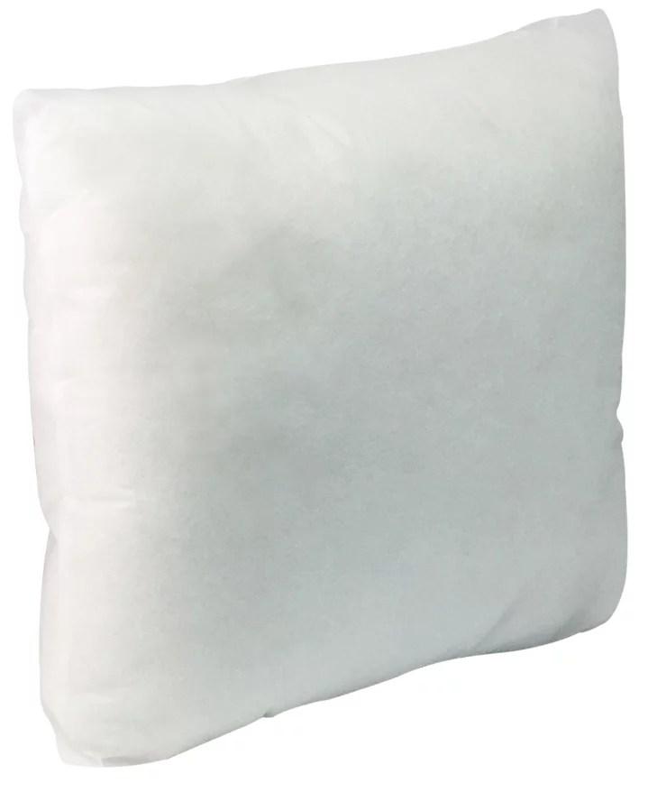 california pillow 18 x 18 premium hypoallergenic extra firm throw pillow insert stuffer pillow insert white made in usa walmart com