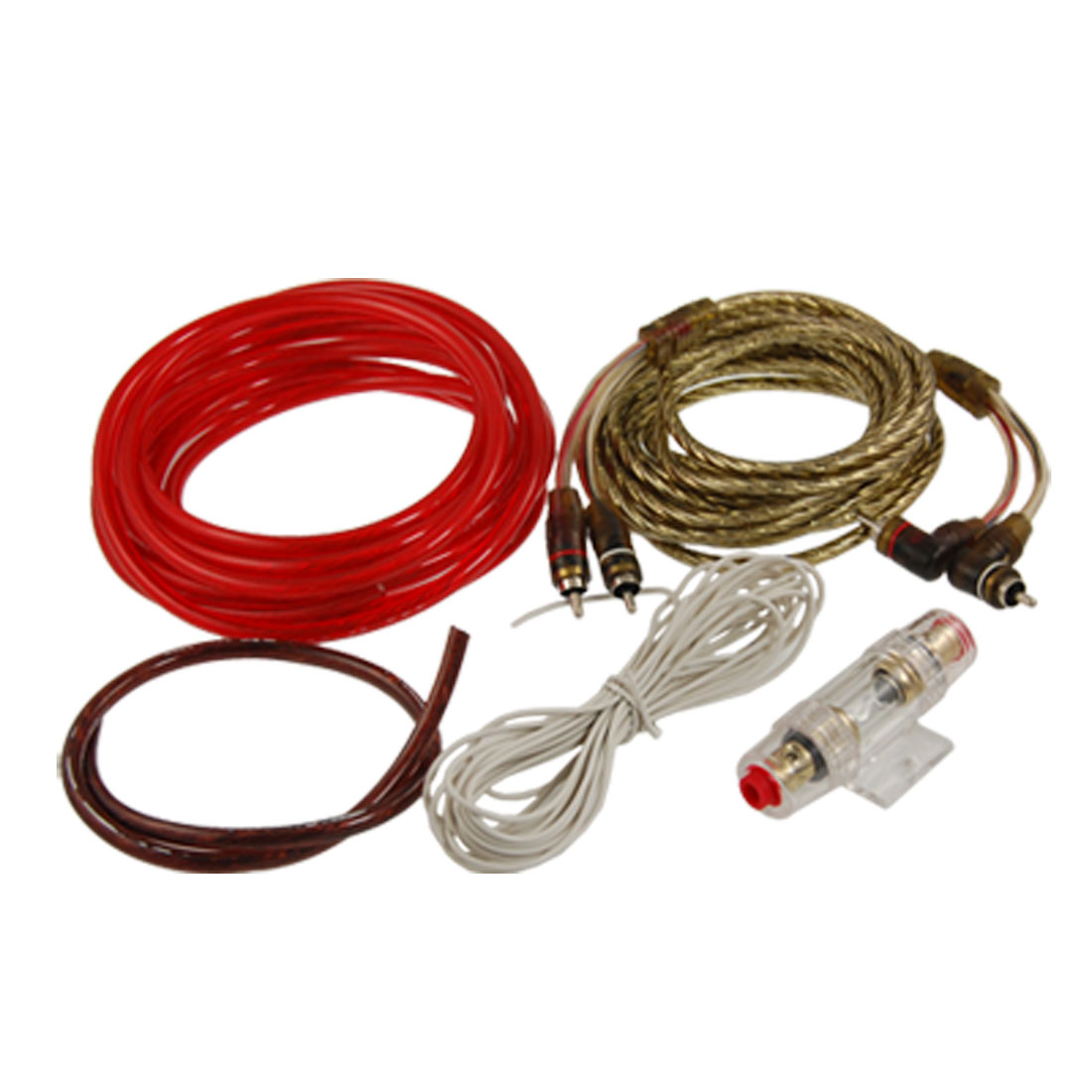hight resolution of car audio 4 pcs cables fuse holder amplifier wiring kit walmart com audio amplifier kit car audio wiring kit walmart