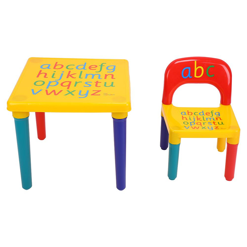 toddler chair plastic wingback wicker eecoo lightweight kids table diy set portable colorful alphabet child fun