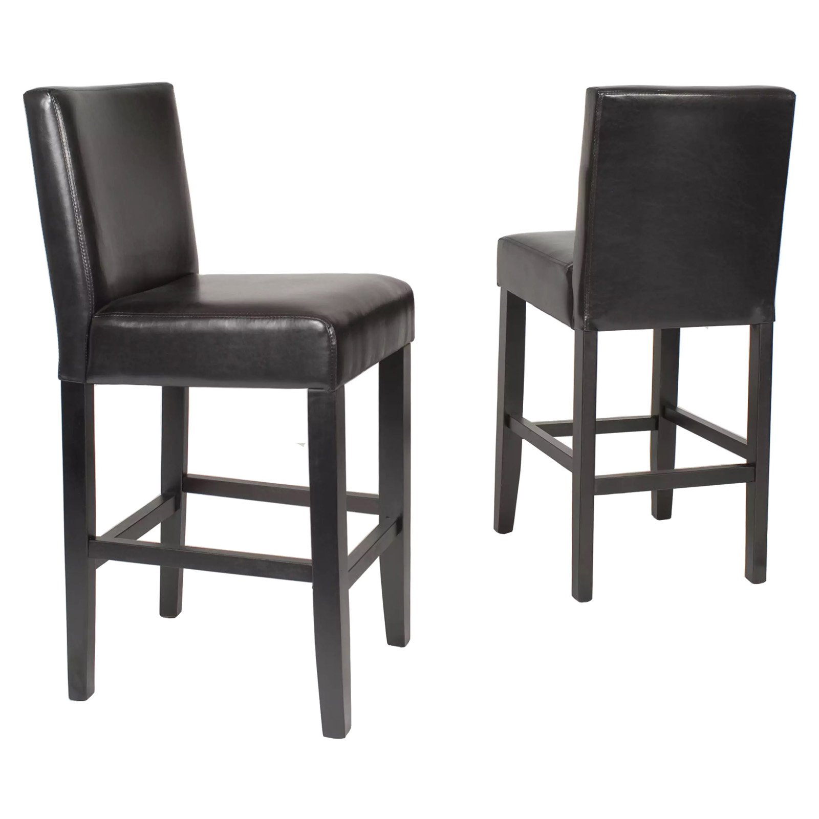 Counter Height Chairs With Arms Roundhill Citylight Counter Height Barstool Set Of 2 Multiple Colors Available