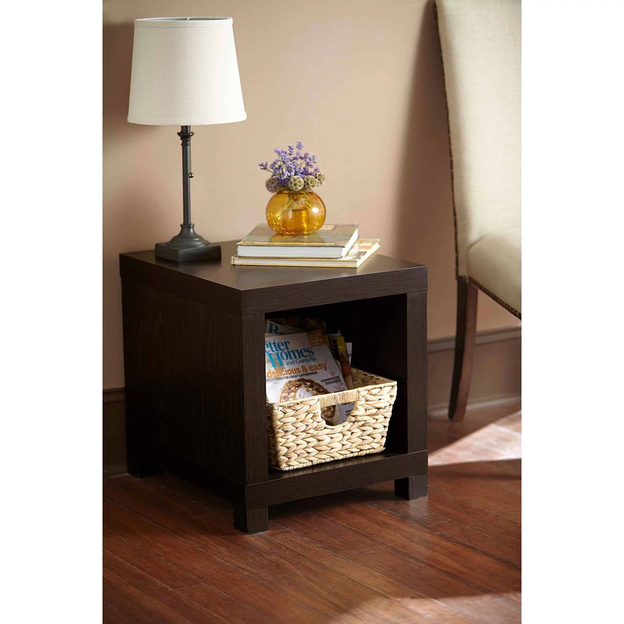 better homes and gardens living room pictures rosewood furniture accent table multiple colors walmart com
