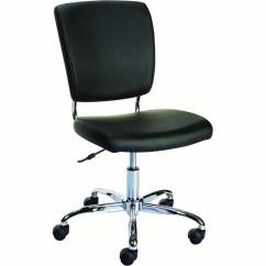Staples Office Chairs Guitar Chair Stool 27373 Nadler Luxura Armless Black Walmart Com Departments