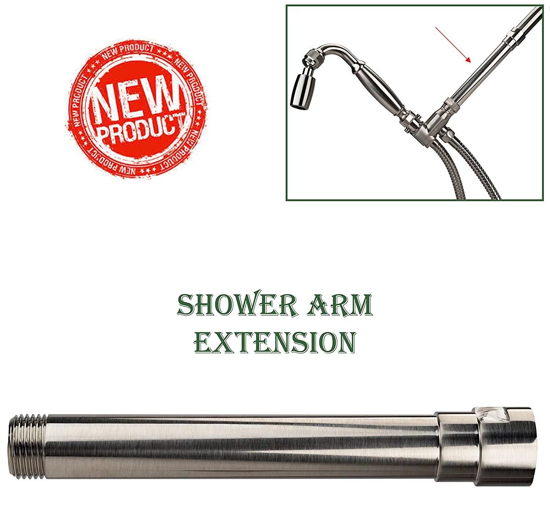 High Sierra Showerheads Exclusive All Metal Shower Arm