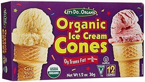 043182203555 UPC Let39s Do Organic Ice Cream Cones 12