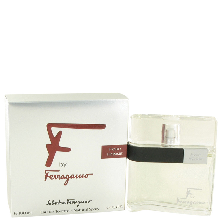 Salvatore Ferragamo F Eau De Toilette Spray for Men 3.4 oz