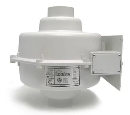 radonaway gp301 radon mitigation fan 3x3 install kit