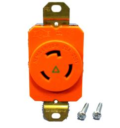 pass seymour isolated ground locking receptacle nema l6 20r 20a 250v igl620 r walmart com [ 2048 x 2048 Pixel ]