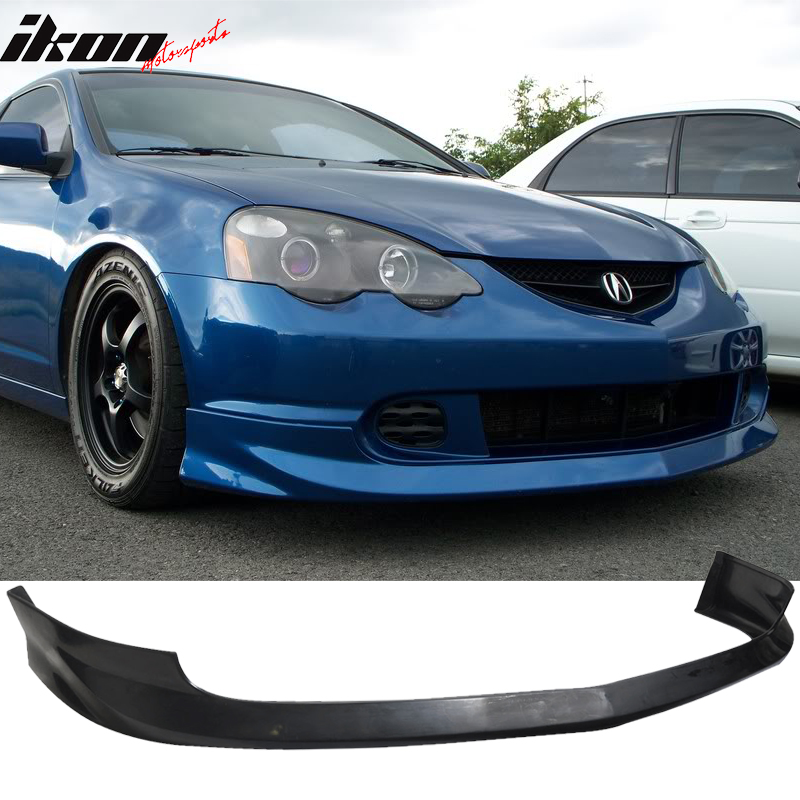compatible with 02 04 acura rsx dc5 2dr coupe a spec front bumper lip spoiler urethane pu