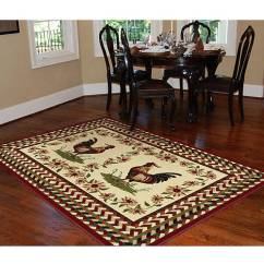 Rooster Kitchen Rugs Hotels With Full Kitchens In Orlando Florida Orian Braid Rouge Area Rug, 5'3