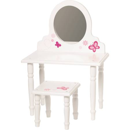 "My Life As 18"" Doll Furniture, Vanity and Stool"