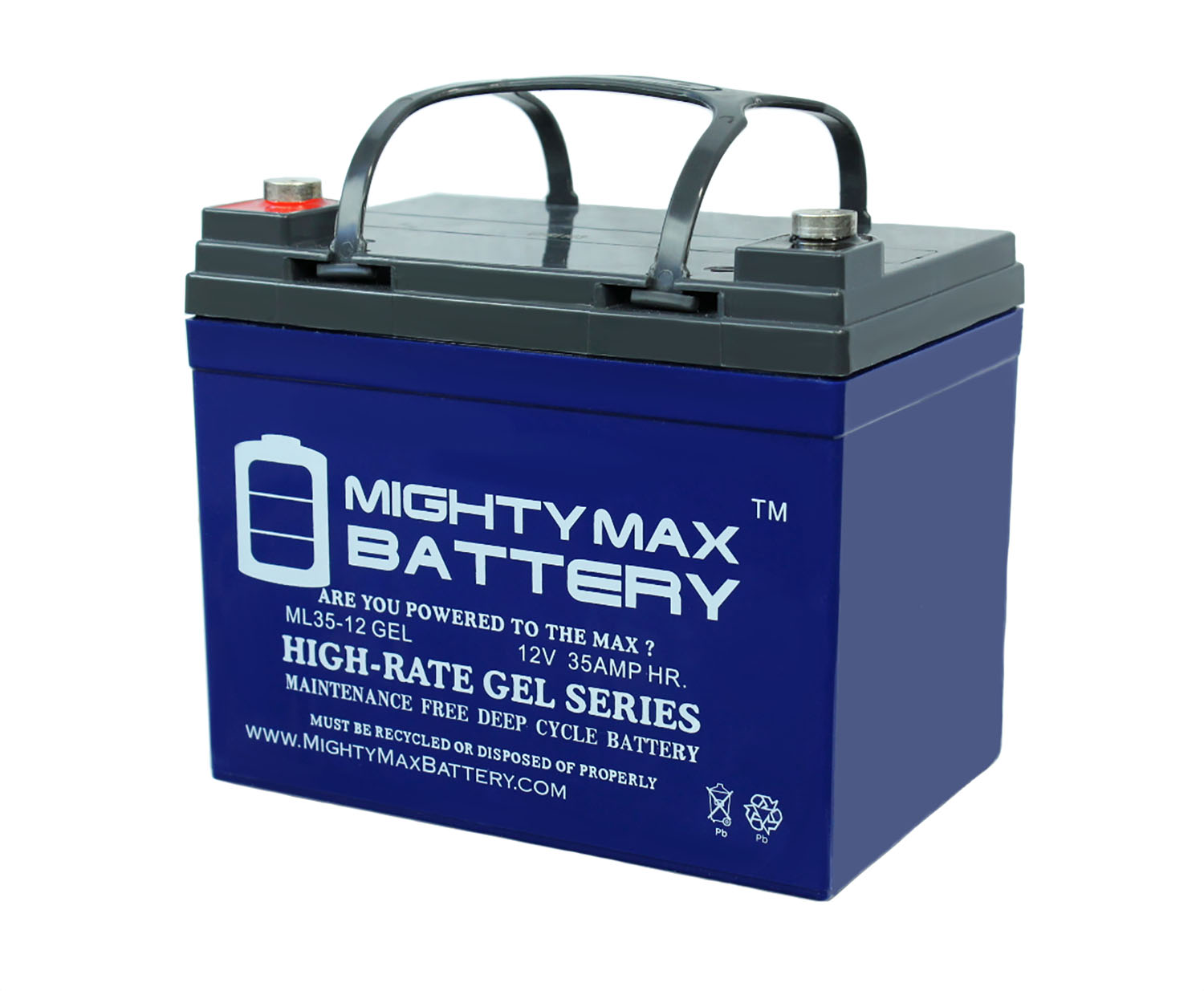 hight resolution of 12v 35ah gel battery replaces johndeere lawn tractor riding mower 108 walmart com