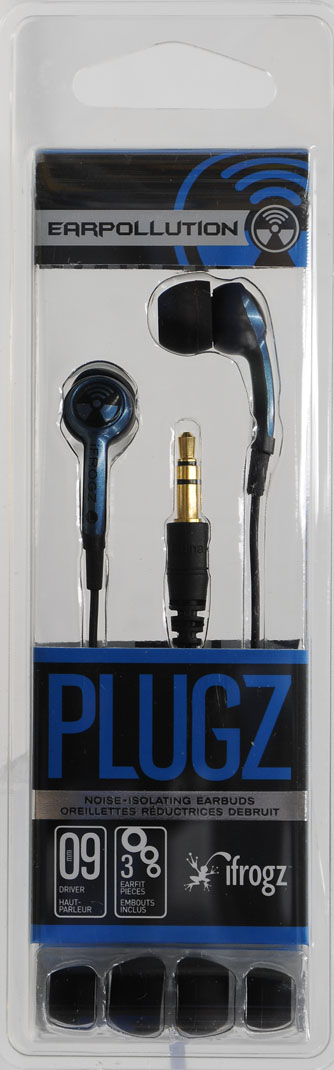Dollar General Earbuds With Mic : dollar, general, earbuds, IFrogz, Pollution, Plugz, Earbuds,, Assorted, Colors, Walmart.com
