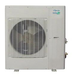 pioneer ductless mini split inverter heat pump system 9 000 btu h 110 120v 17 0 seer walmart com [ 1800 x 1800 Pixel ]