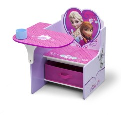 Chairs For Kids Room Little Tikes Chunky Disney Frozen Chair Desk With Storage Bin By Delta Children Walmart Com
